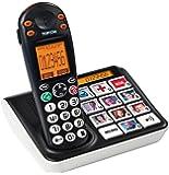 Topcom Sologic B935 - Teléfono fijo inalámbrico, negro