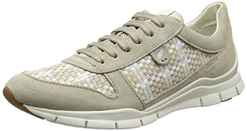 Womens D Sukie Un Faible Chaussures Montantes, Blanc (ivoryc1008) Geox