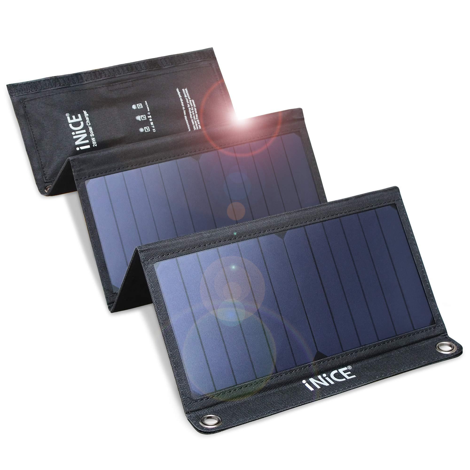 Cargador Solar Portatil de 28 Watts de Salida ENTHER