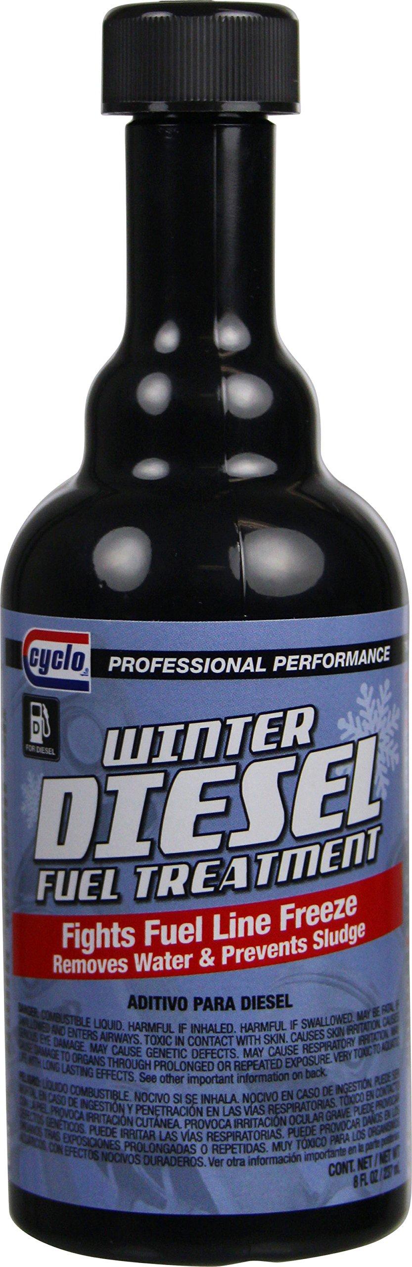 Niteo Cyclo C23 Diesel Anti Gel Fuel Treatment & Injector Cleaner, 8 fl oz, Case of 12