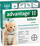 Advantage II Kitten 4-Pack