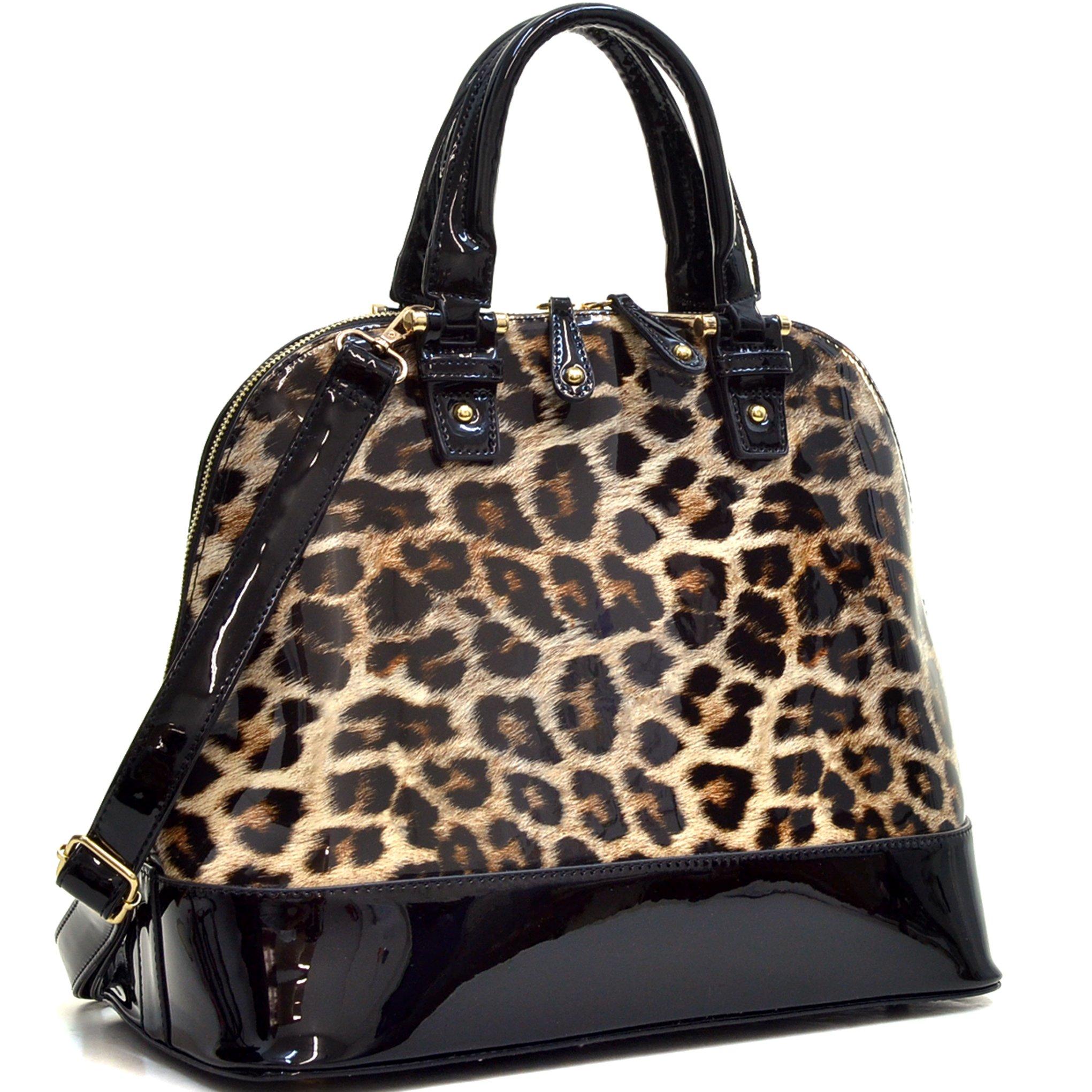 Large Dome Satchel Shell Shape Bag Top Handle Purse Shoulder Handbag