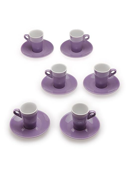 6 opinioni per Tognana 6 Tazze Caffè Elegant lilla