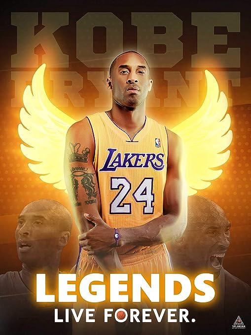 Amazon Com 777 Tri Seven Entertainment Kobe Bryant Poster Legends