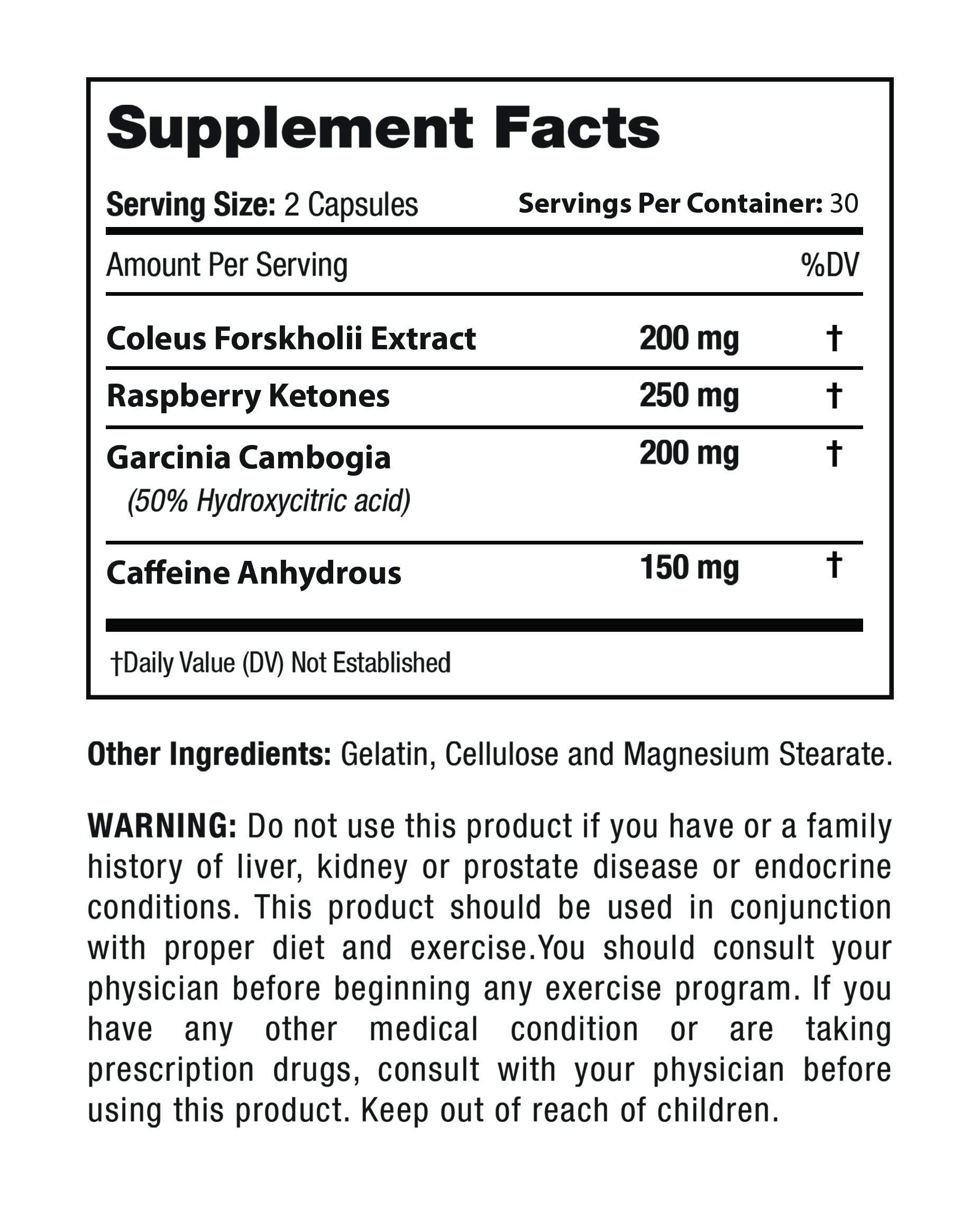 Forskolin Keto Boost- Keto Boost Forskolin Weight Loss, Must be Used with Garcinia Rapid Boost (Single Bottle)