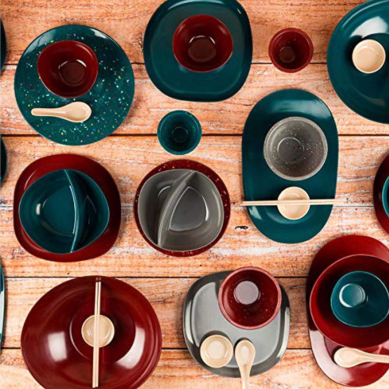 Eggshell 1.5q Serving Bowls Zak Designs 1358-L600 Confetti