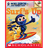 Surf's Up!: An Acorn Book (Moby Shinobi and Toby, Too! #1) (Moby Shinobi and Toby Too!)
