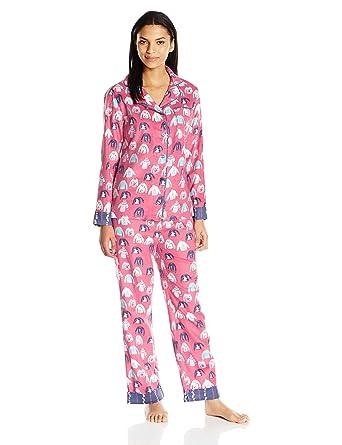 munki munki Women s Flannel Long Sleeve Classic Pj Set at Amazon ... 668df73f1