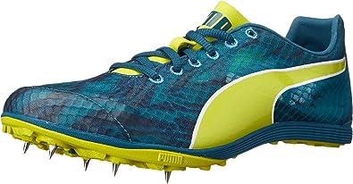 Puma Womens Crossfox XCS V2 Running Shoes Blue Coral-Pagoda Blue-Sulphur  Spring Size