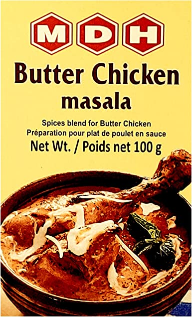 MDH - Mezcla para hacer pollo masala con mantequilla - 100 g