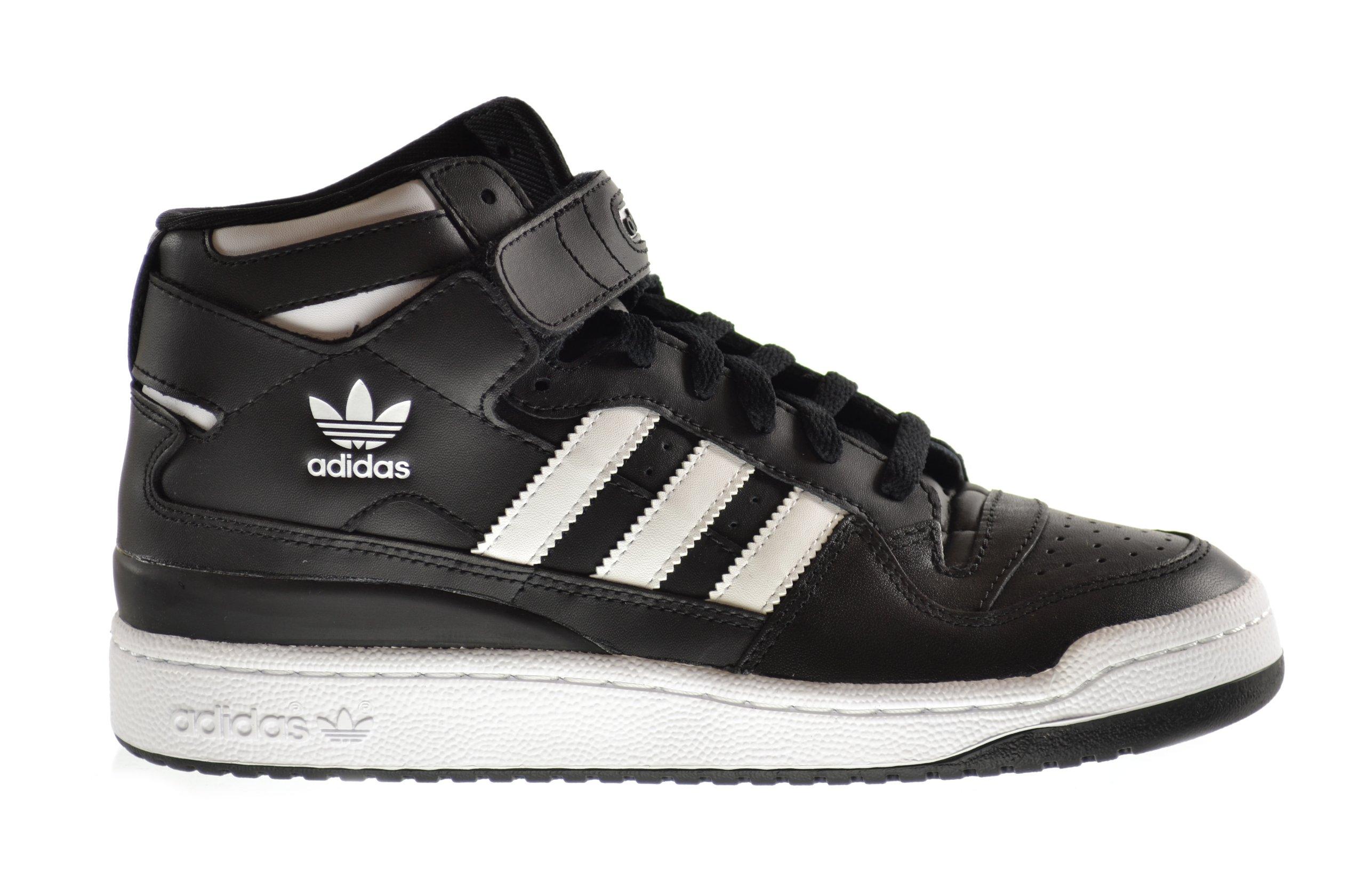 the latest 86594 e3712 Galleon - Adidas Forum Mid Men s Shoes Black White G19483 (8.5 D(M) US)