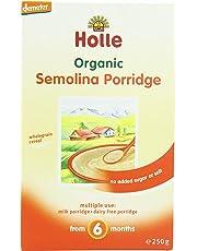 Holle Organic From 6 Months Semolina Porridge 250 g (Pack of 3)