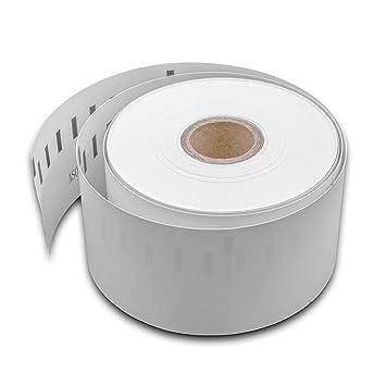 vhbw rollo de etiquetas adhesivas 51mmx 89mm para impresora ...