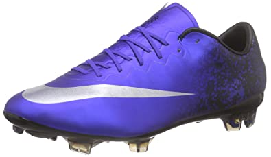 7da32a32c36 NIKE MercurialX Vapor X Ronaldo Firm Ground Cleats  DEEP Royal Blue  (7.5)