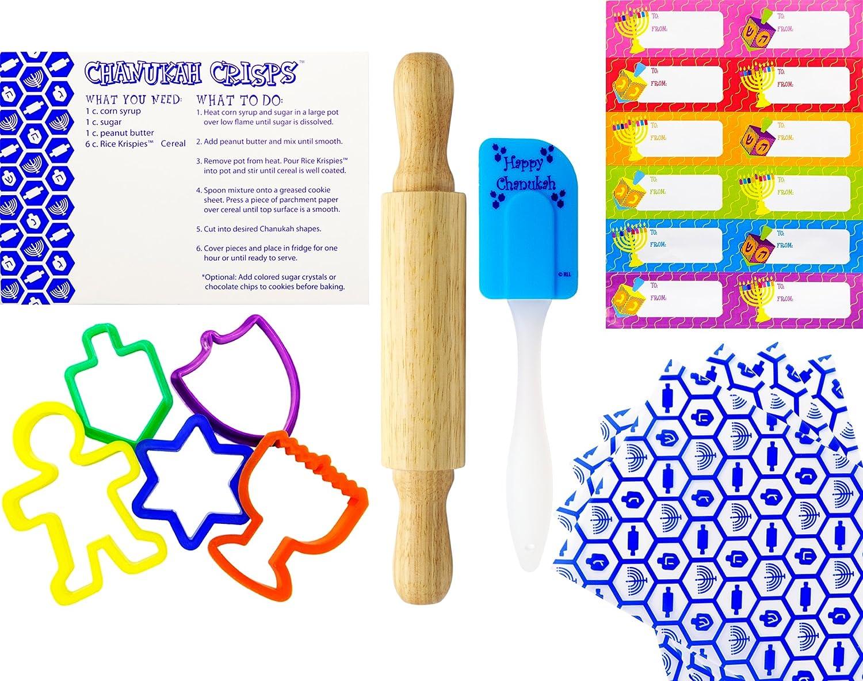 Chanukah Baking Set in Collectible Tin - Hanukkah Baking Set Hanukkah Play