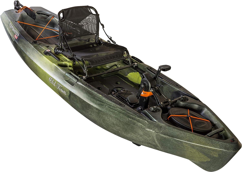 Best fishing kayak: Old Town Topwater 106 PDL Angler Fishing Kayak