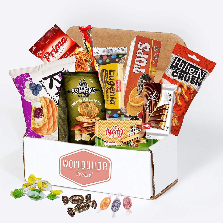 Eastern European Snacks Mix - Snacks from Russia, Romania, Croatia, Serbia, Ukraine and more