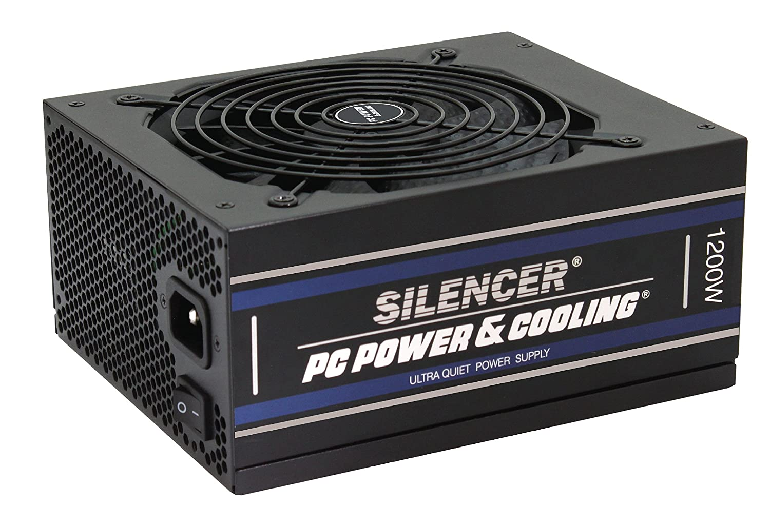 PC Power & Cooling Silencer Series 1200 Watt, 80 Plus Platinum, Fully-Modular, Active PFC, Ultra Quiet ATX PC Power Supply, 10 Year Warranty, FPS1200-A5M00