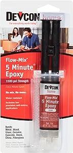 Devcon 20445 Flow-Mix 5-Minute Epoxy - 14 ml