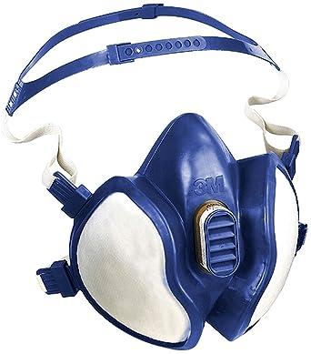 3M 4279 Media Máscara sin Mantenimiento, Certificado de seguridad EN