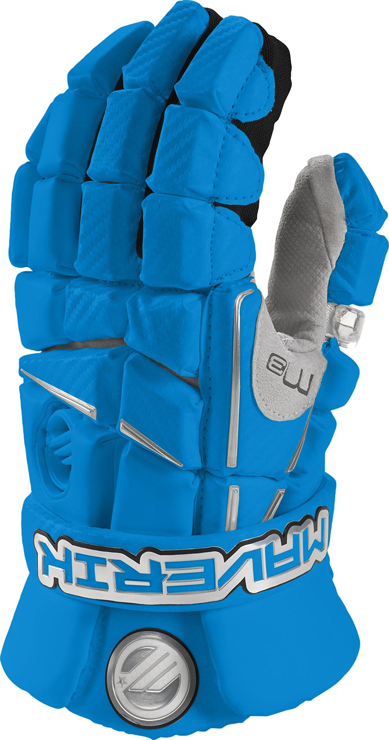 Maverik Lacrosse M3 Glove, Royal, Large