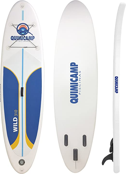 QUIMICAMP - Tabla de Paddle Surf hinchable, 12cm de espesor ...