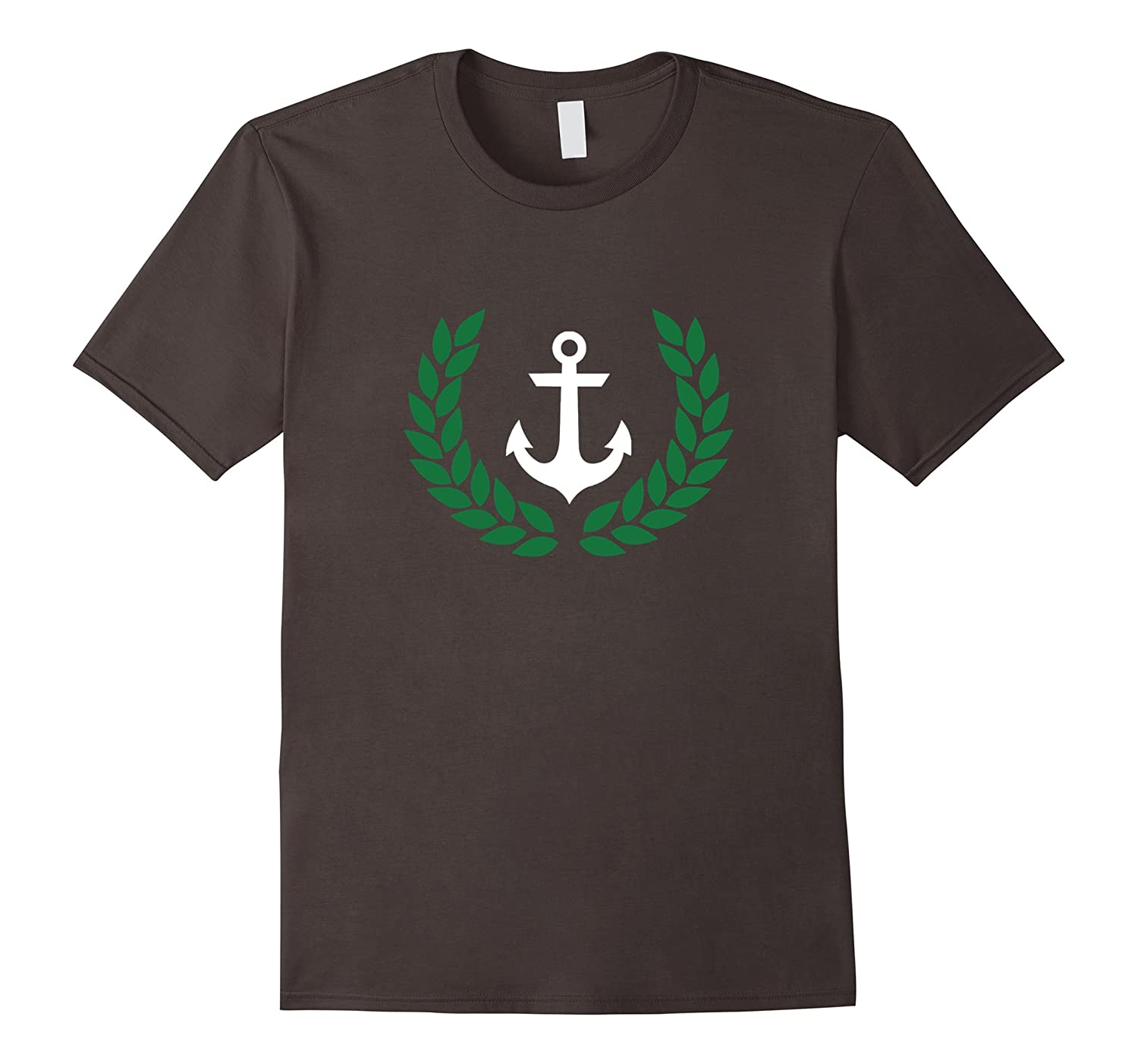 Pablo's Shirt with Anchor and Wreath, Best Seller Tee Shirt-Teevkd