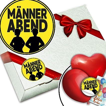 Männerabend Geschenkverpackung Set Männerabend Geschenk