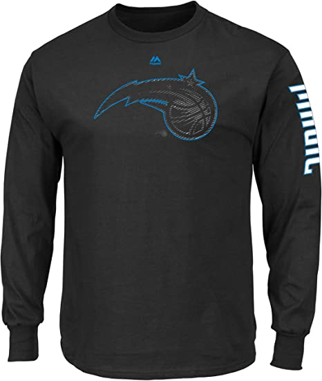 144258e27fb Image Unavailable. Image not available for. Color  NBA Orlando Magic Men s  Easy Choice Long Sleeve Basic Tee ...