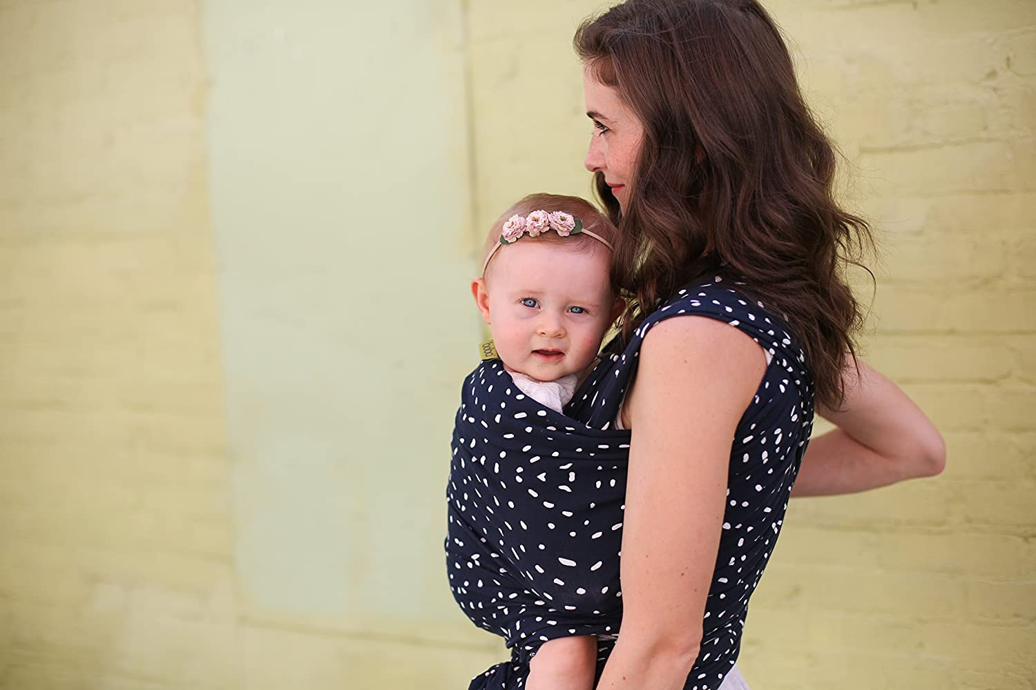 Boba Baby Wrap Carrier Bamboo Dark Blue The Original Child And