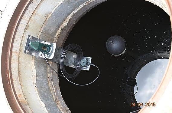 -EcoMeter S- con sensor ultrasónico (funciona con pilas) y monitor/pantalla inálambrica (con enchufe) información adicional sobre el volumen de ...