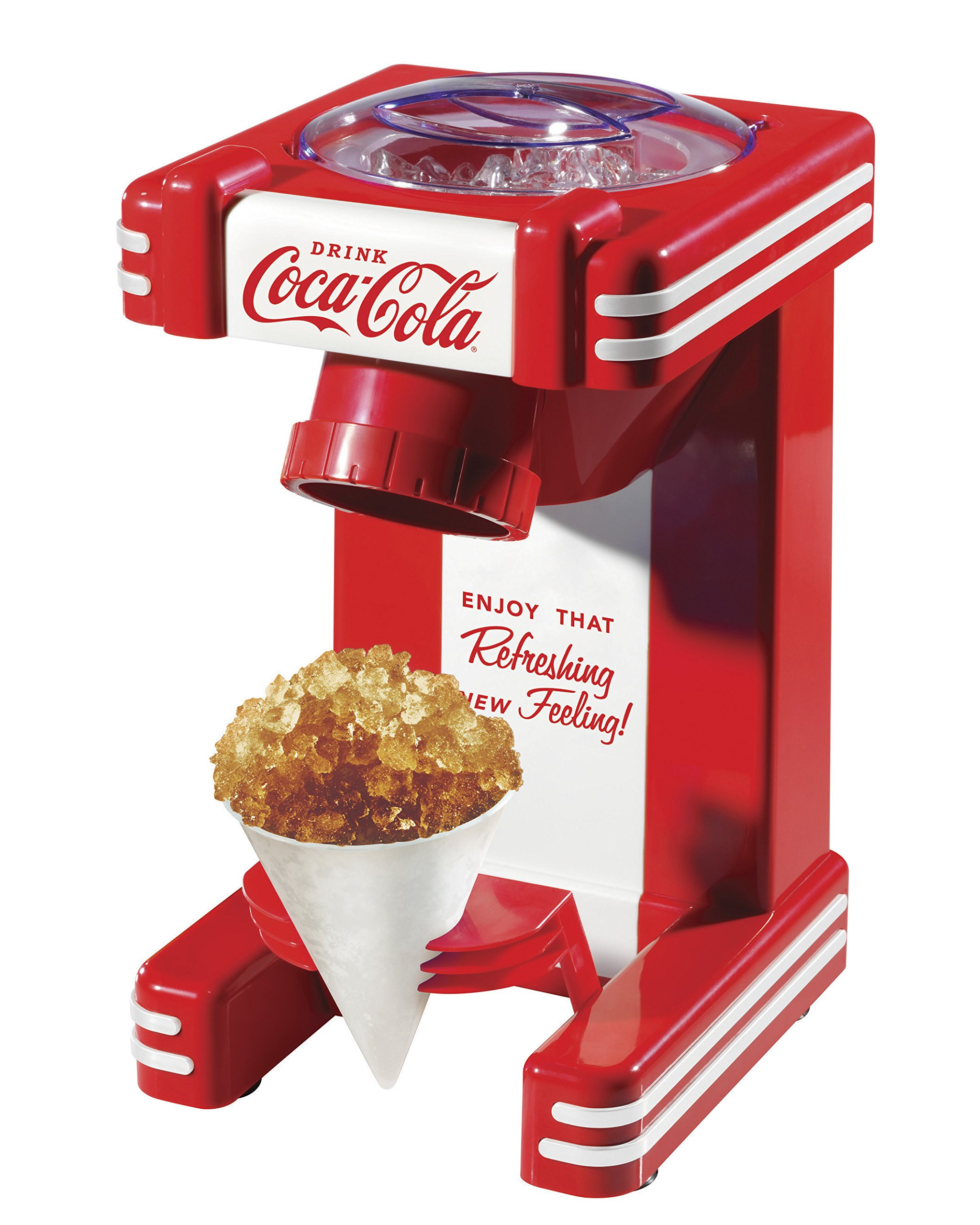 Nostalgia RSM702COKE Coca-Cola Single Snow Cone Maker by NOSTALGIA