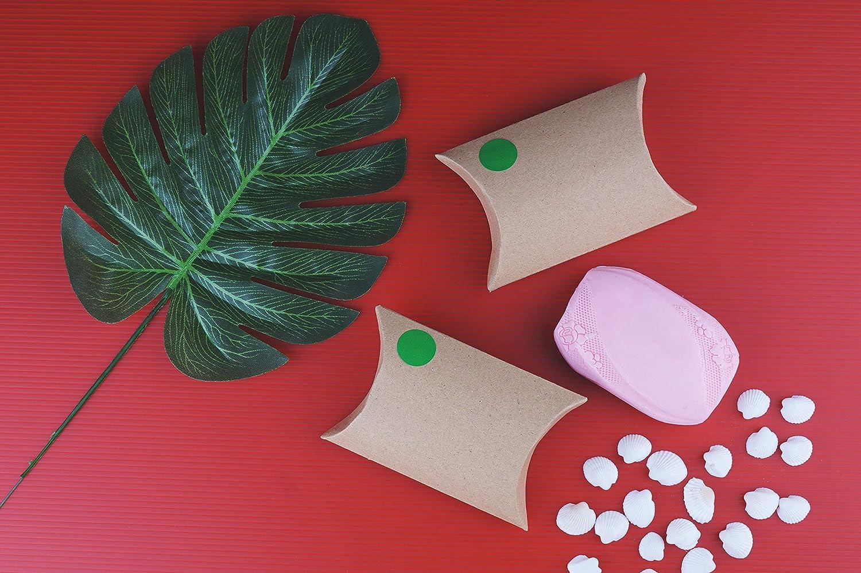Etichette Colorate Scrivibili da 1,9cm in Rotolo Confezione Nastro da 1050 Pezzi Royal Green Adesivi Rotondi Multiuso Colore Rosa Fluorescente 19mm