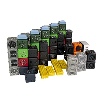 Modular Robotics Cubelets Robot Blocks - Code & Construct Educator Pack - STEM Education & Coding Robot, Free Lesson Plans, Ages 4+: Toys & Games