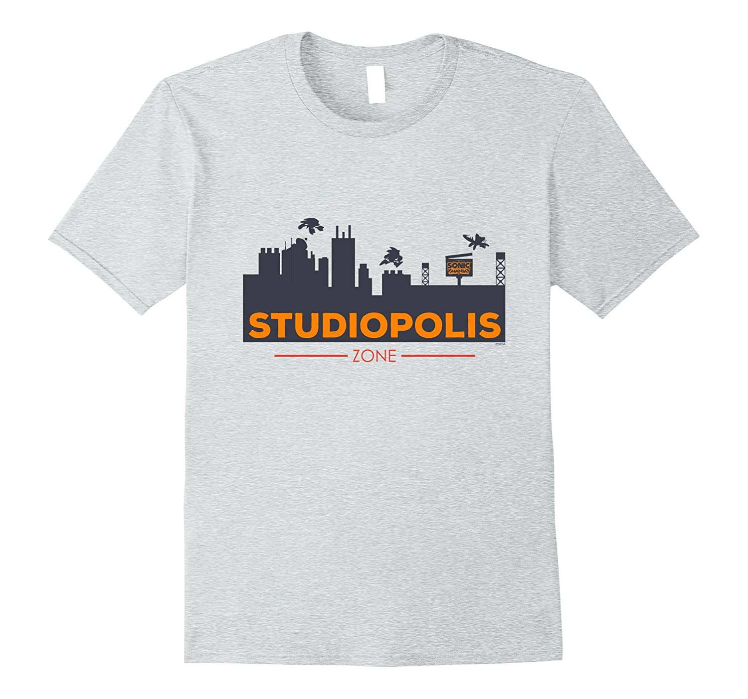 Official Sonic Mania T-Shirt - Welcome to Studiopolis-Art