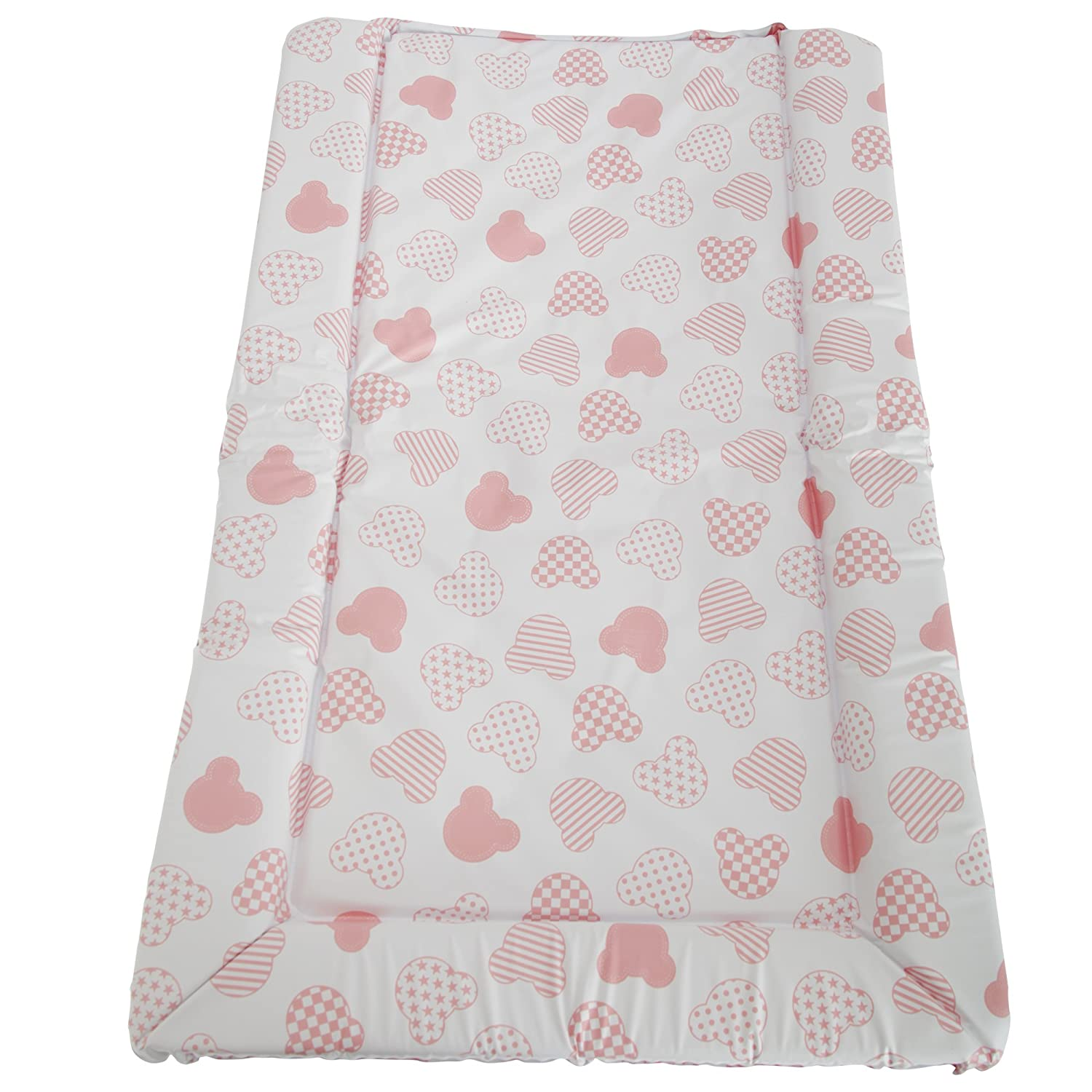 Sky Blue One Size Snuggle Baby Baby Boys//Girls Cute Bear Design Changing Mat