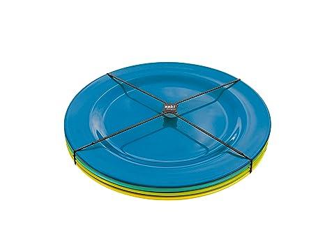 Zak 2356-4410 Ice Cool - Platos para Ensalada (24 cm, 4 Unidades ...