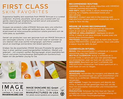 Amazon.com: Image Skincare First Class Favorites Travel Set, 0.45 Lb: Luxury Beauty