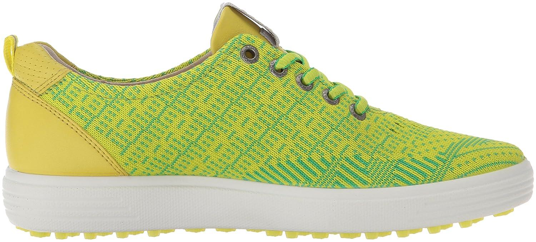 ECCO Women's Casual Hybrid Knit Golf Shoe B01C08TE3I 41 EU/10-10.5 M US Lime Punch/Toucan Neon/Sulphur