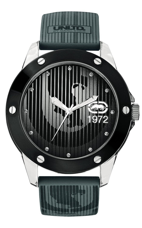 Mit Ecko Uhr Silikon Marc Armband Quarz Datum Herren Klassisch BexorCWd