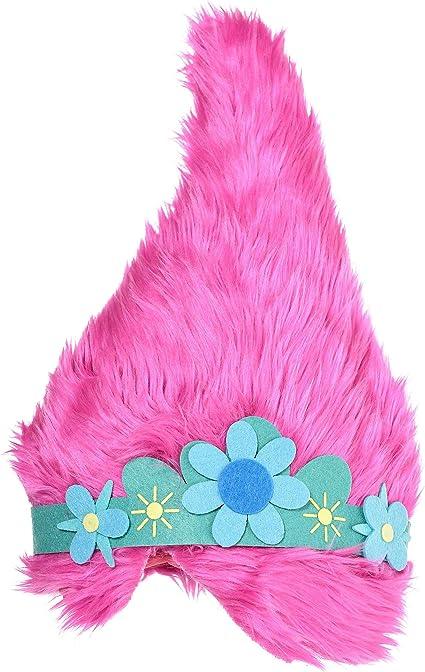 5 to 10 year old Poppy Troll Hat Inspired by Poppy