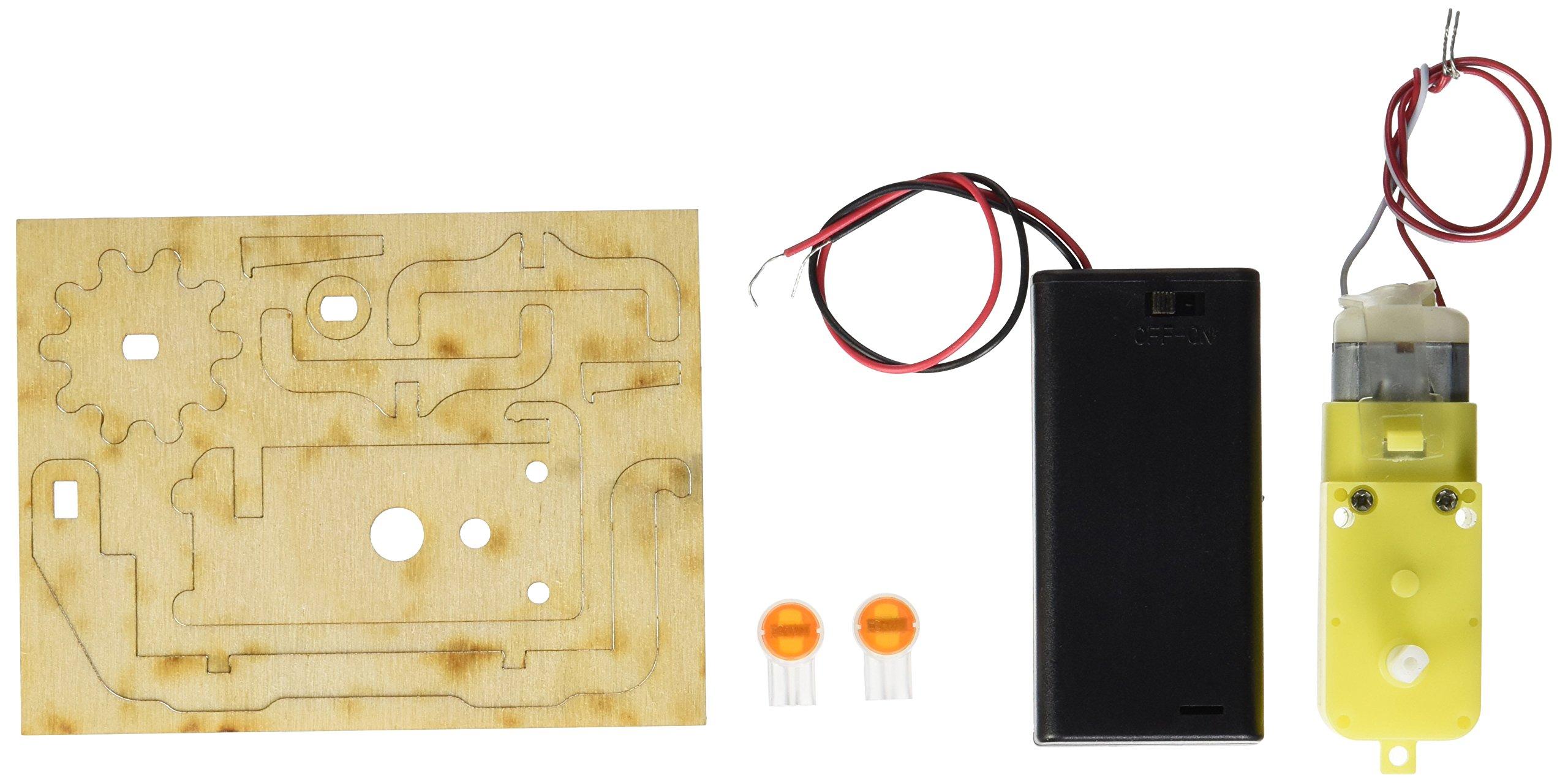 PlayMonster Marbleocity Motor Kit, 4'' x 3''