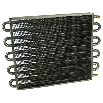 Derale 13315 Series 7000 Tube and Fin Cooler Core,Black: Automotive