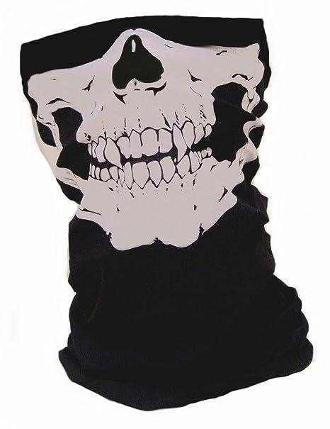 Tour de cou Masque Cagoule Polaire  quot Ghost - Tete de mort quot  -  Matière 97513489a19
