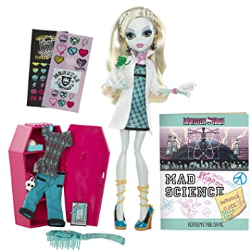 Amazoncom Monster High Classroom Playset And Lagoona Blue Doll