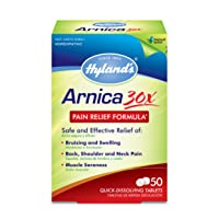 Arnica Montana 30x Tablets by Hyland's, Natural Relief of Bruises, Swelling and...