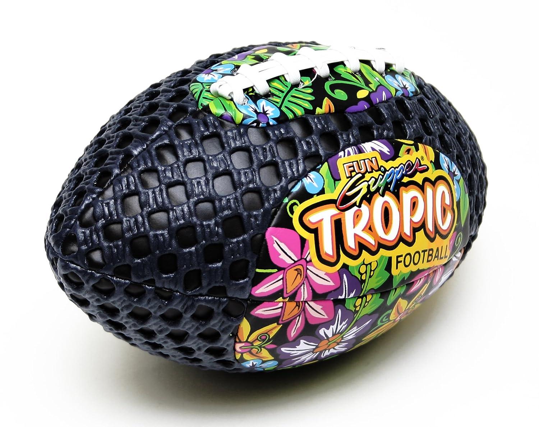 定番 Fun Fun Gripperグリップゾーン8.5 TropicデザインFootball Saturnian (ブラック) by : Saturnian I I B0765CZ9X9, 津島町:aba94dfb --- efichas.com.br