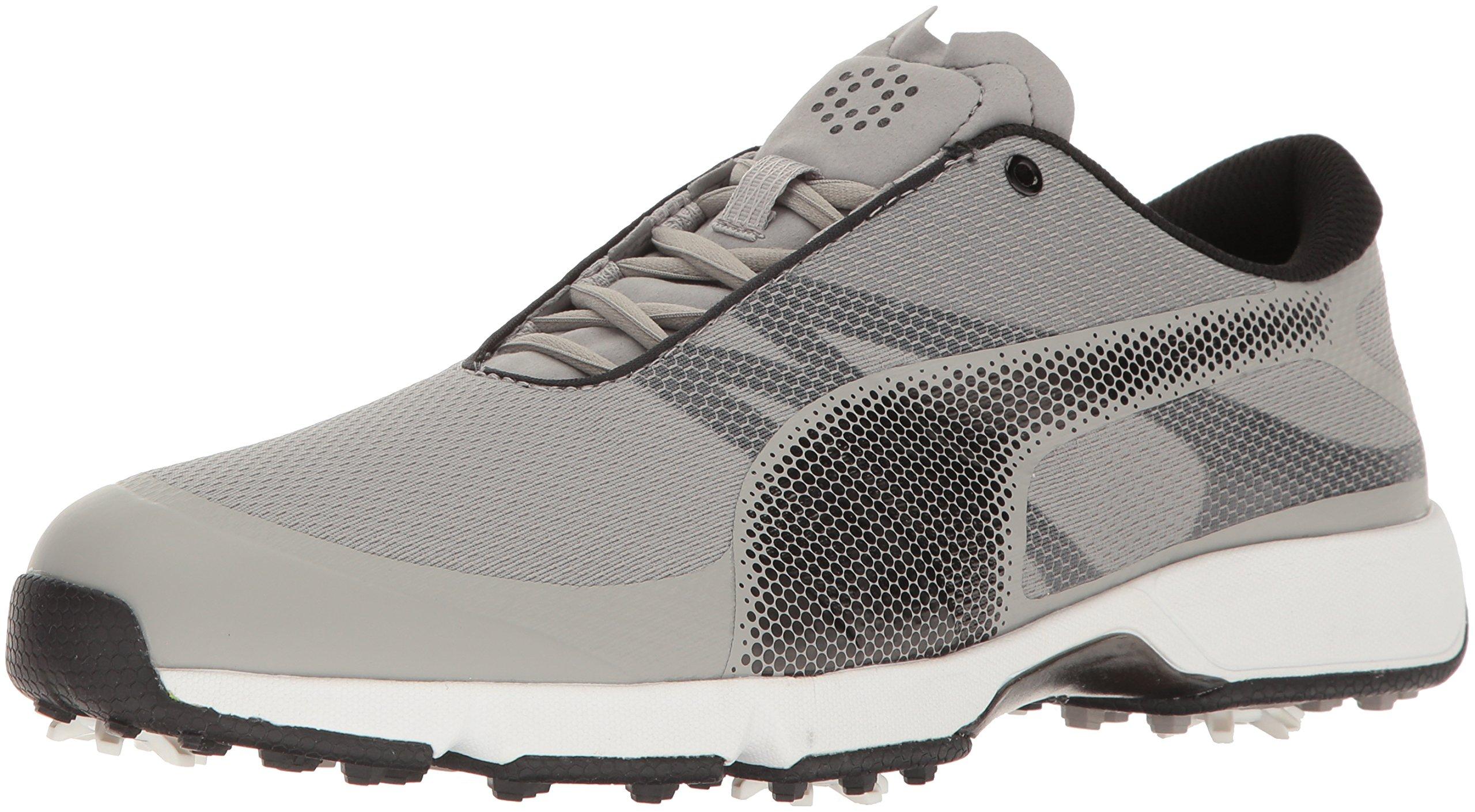 PUMA Golf Men's Ignite Drive Sport Golf Shoe, Drizzle Black White, 12 Medium US by PUMA