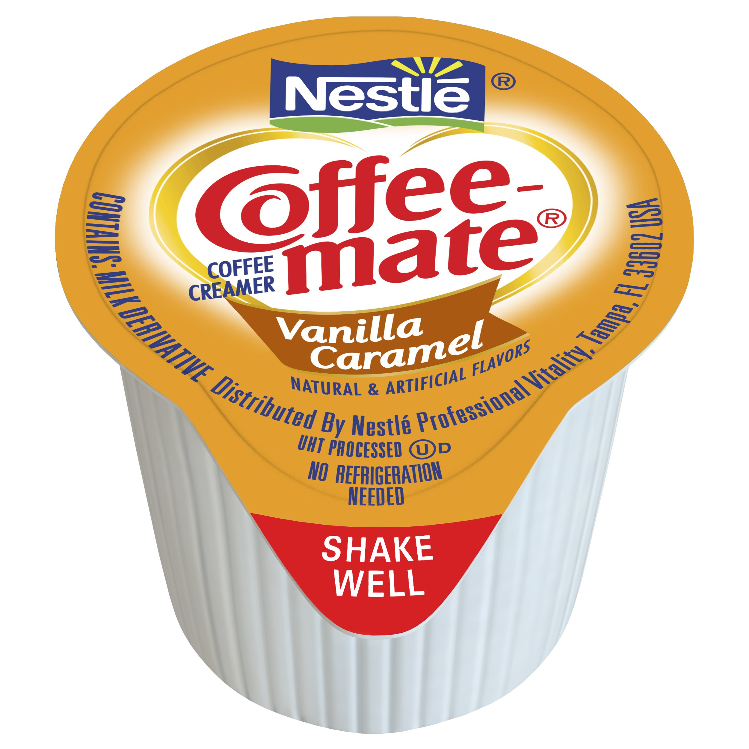 NESTLE COFFEE-MATE Coffee Creamer, Vanilla Caramel, liquid creamer singles, 180 Count (Pack of 1) by Nestle Coffee Mate (Image #2)