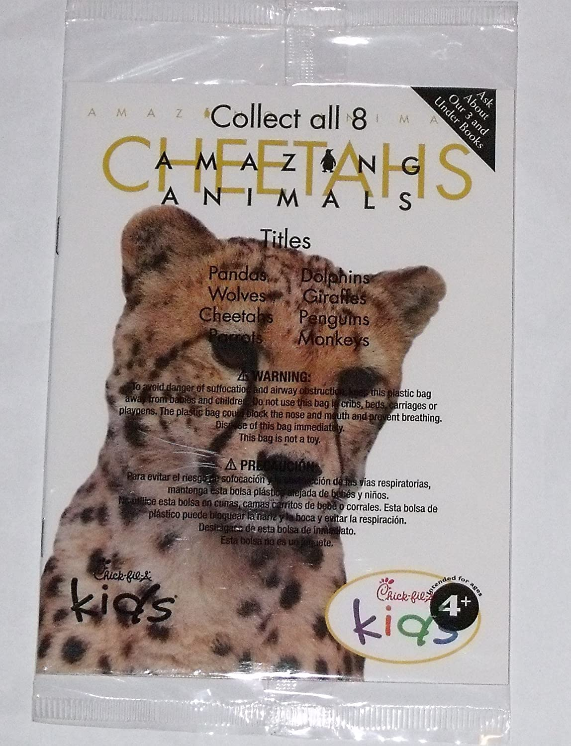 Amazon.com : Chick-fil-a Amazing Animals Book - Cheetahs : Everything Else